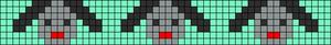 Alpha Friendship Bracelet Pattern #15666