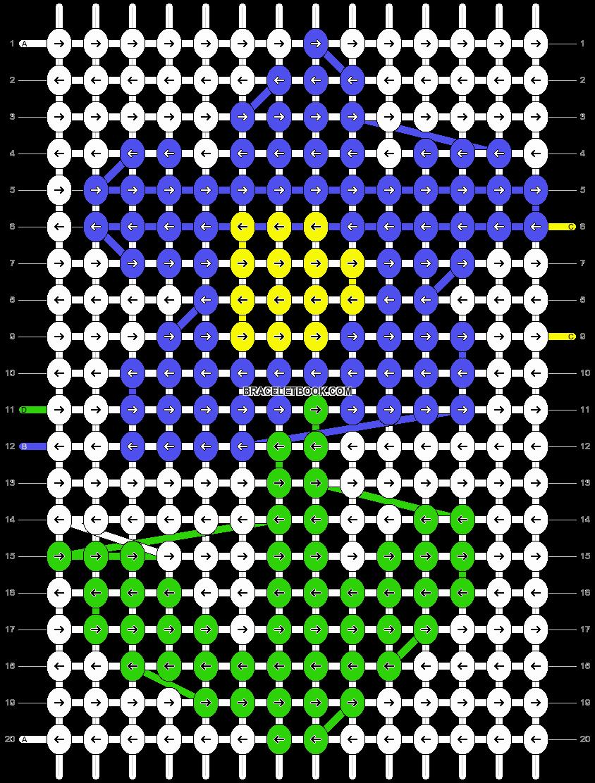 Alpha pattern #15688 pattern