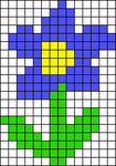 Alpha Friendship Bracelet Pattern #15688