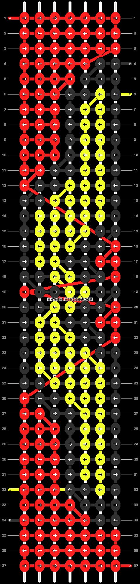 Alpha pattern #15750 pattern