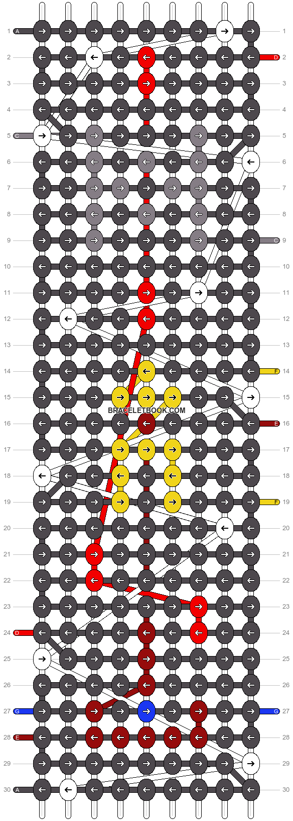 Alpha pattern #15752 pattern