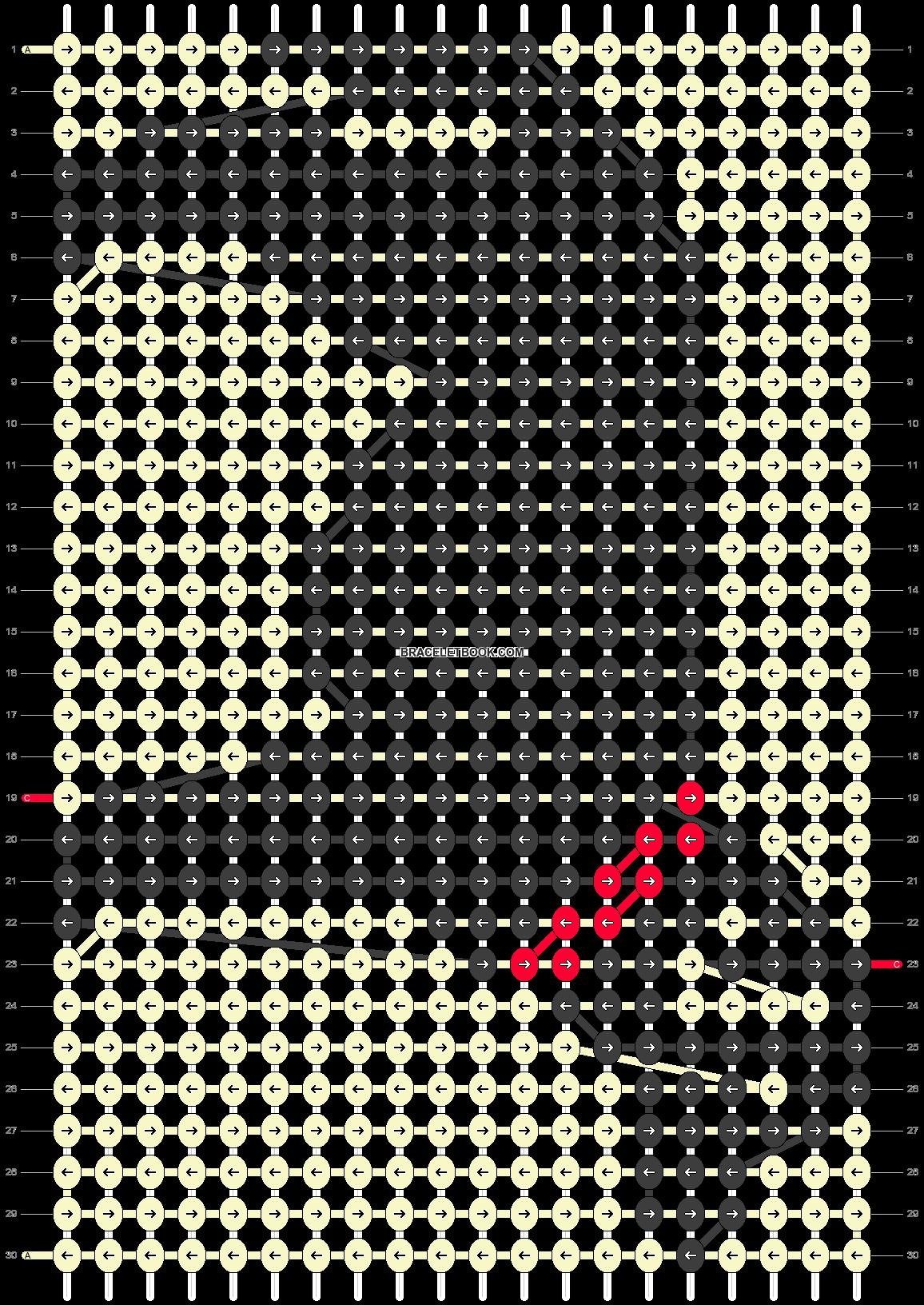 Alpha pattern #15759 pattern