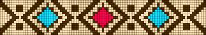 Alpha Friendship Bracelet Pattern #15782