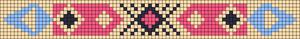 Alpha Friendship Bracelet Pattern #15785
