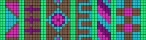 Alpha pattern #15802