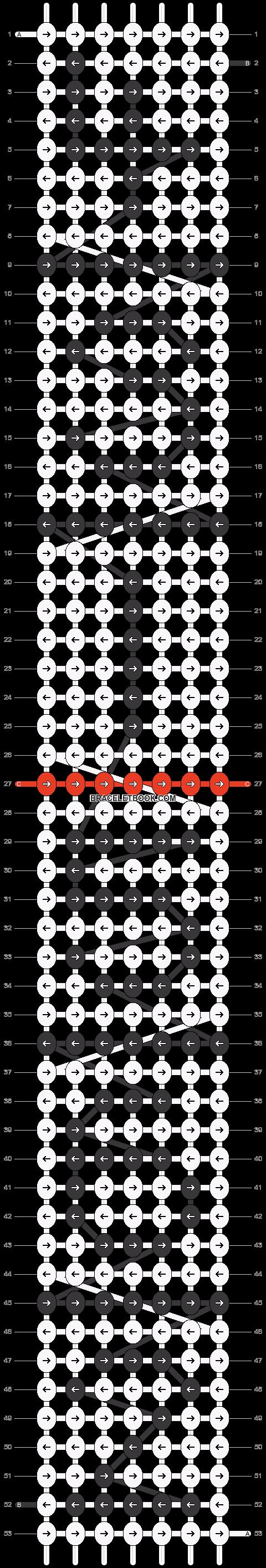 Alpha pattern #15807 pattern