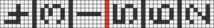 Alpha pattern #15807