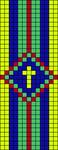 Alpha Friendship Bracelet Pattern #15844