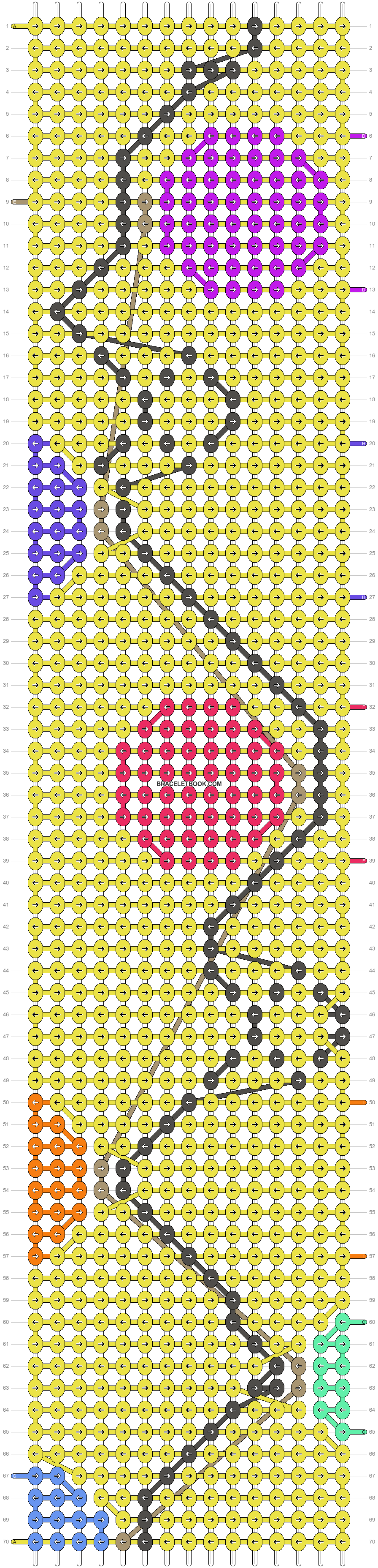 Alpha pattern #15847 pattern