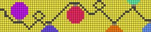 Alpha Friendship Bracelet Pattern #15847