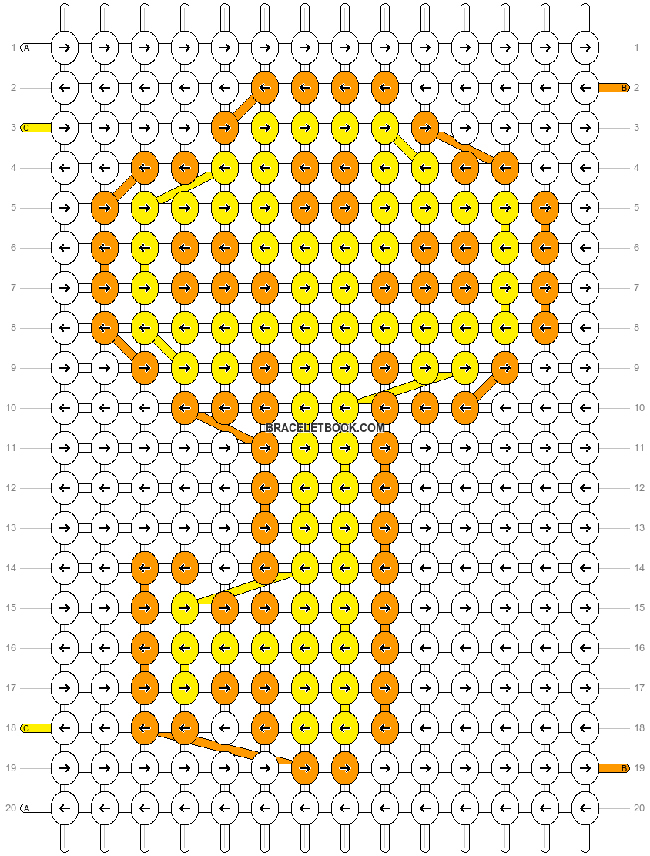 Alpha pattern #15850 pattern
