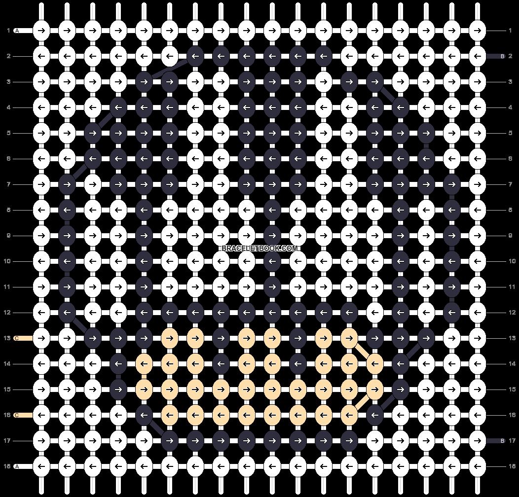 Alpha pattern #15856 pattern