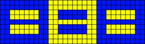Alpha pattern #15871