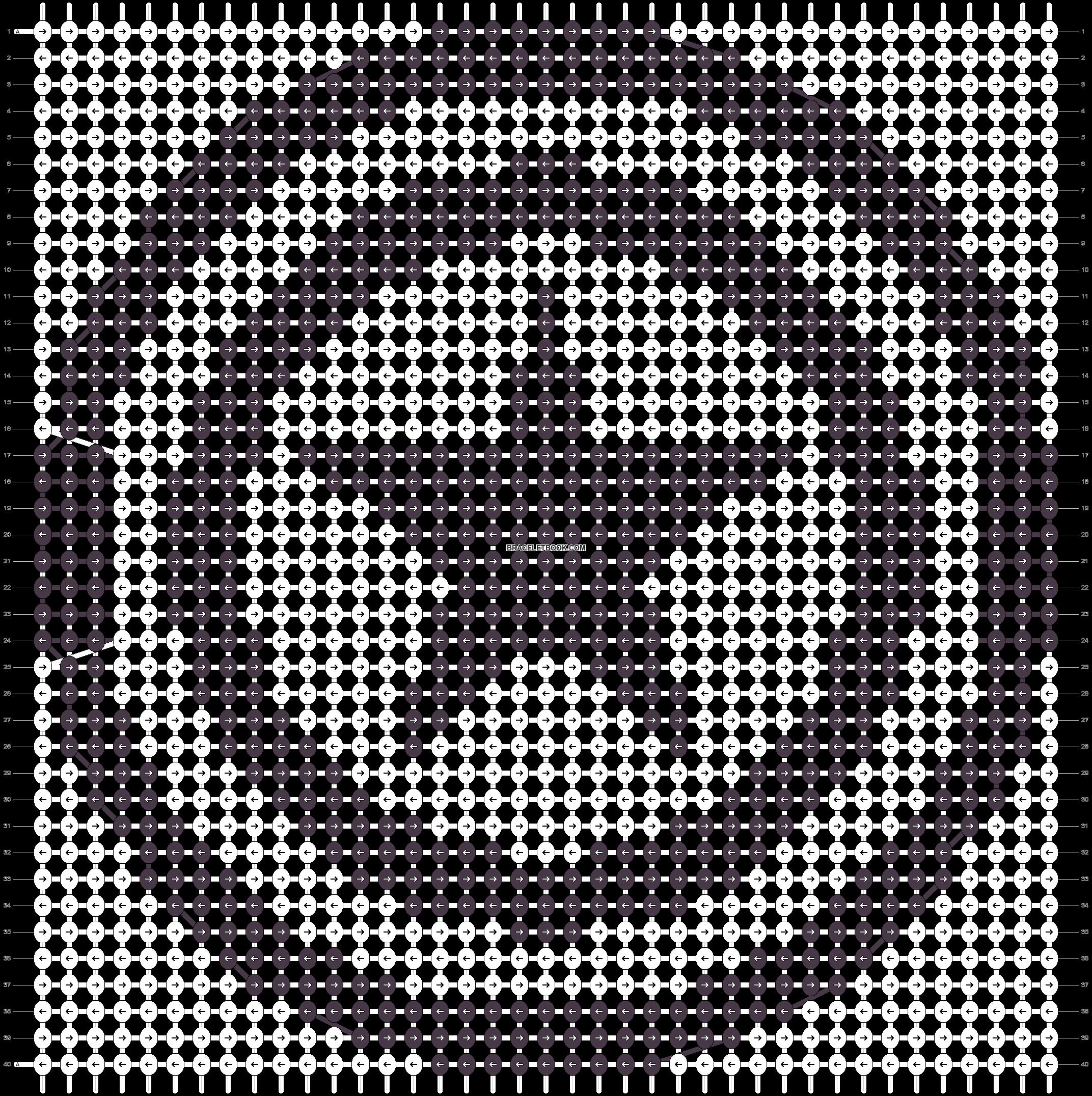 Alpha pattern #15878 pattern