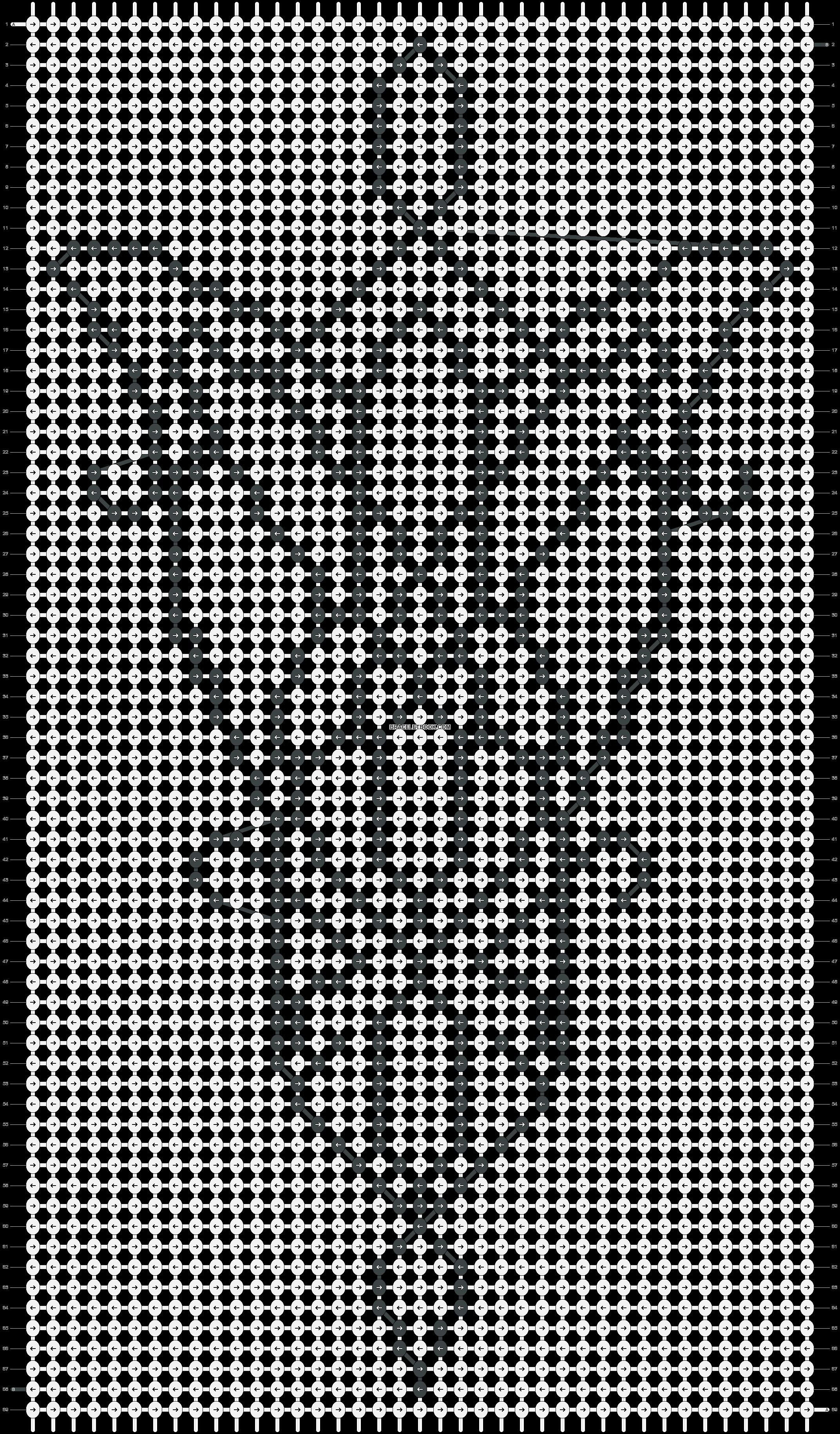 Alpha pattern #15884 pattern