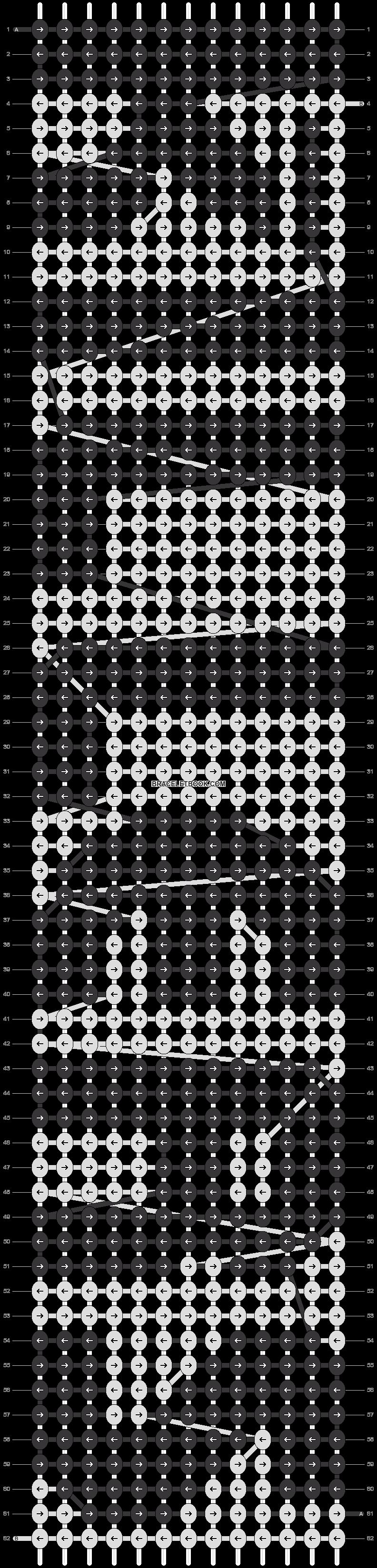 Alpha pattern #15987 pattern