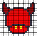 Alpha pattern #16002