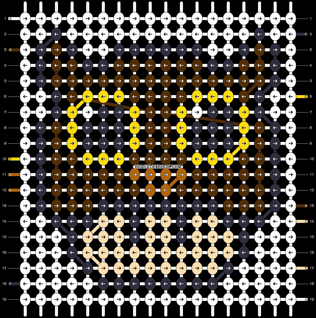 Alpha pattern #16005 pattern