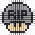 Alpha pattern #16017