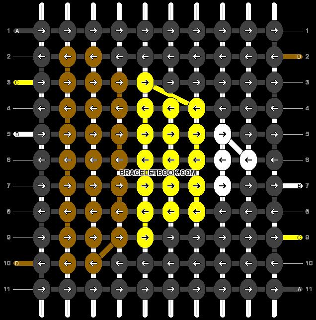 Alpha pattern #16021 pattern