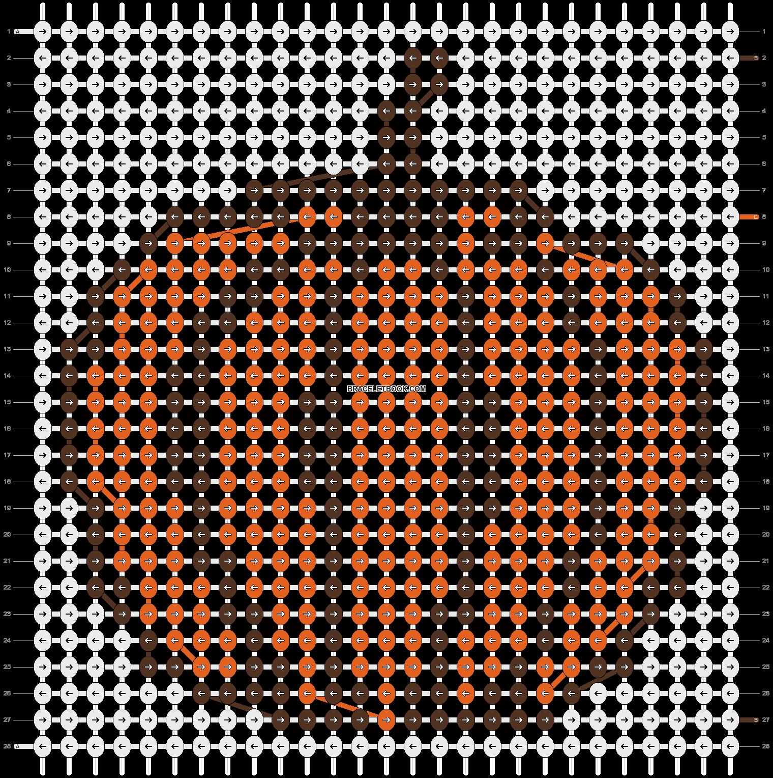 Alpha pattern #16022 pattern