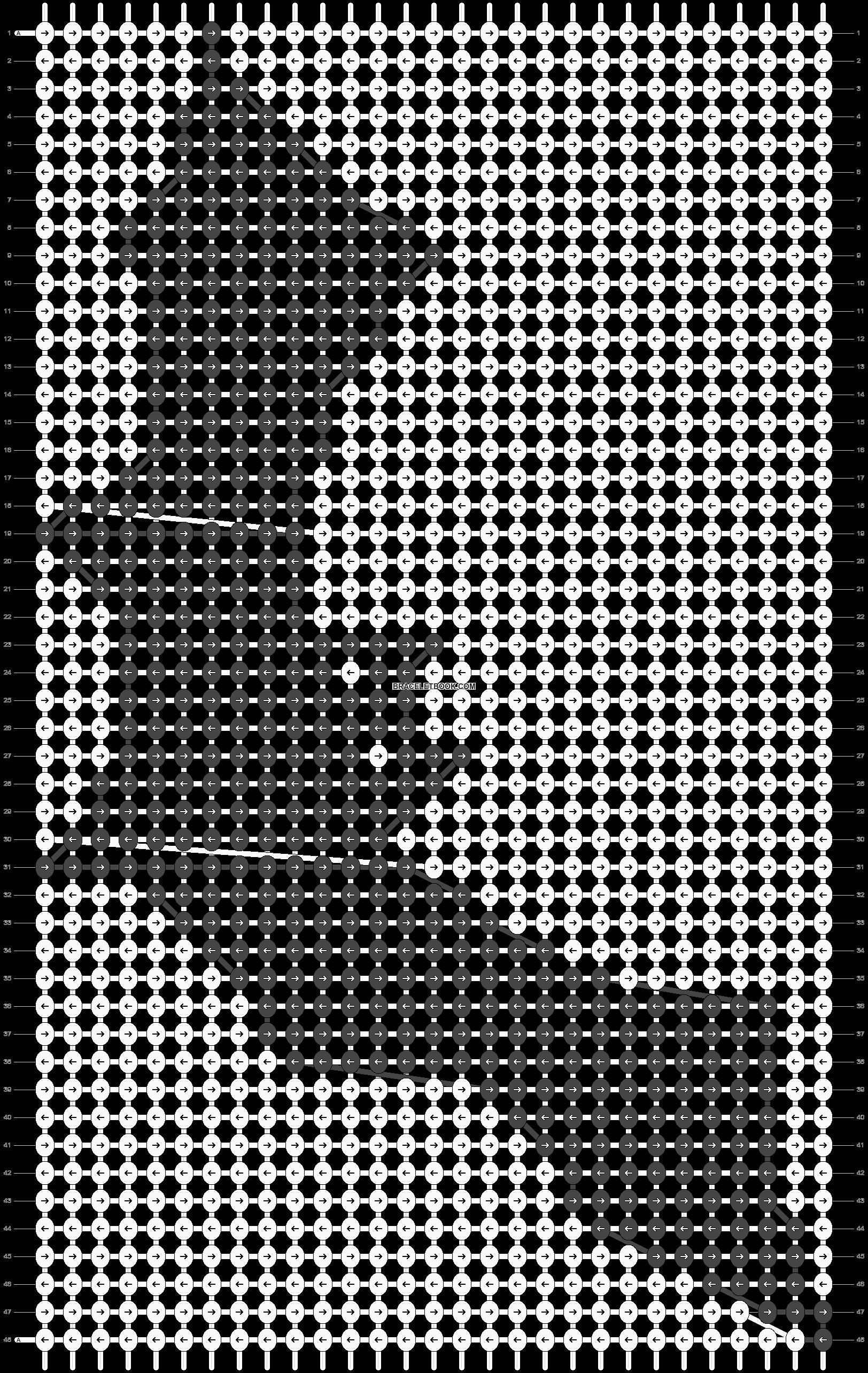 Alpha pattern #16037 pattern