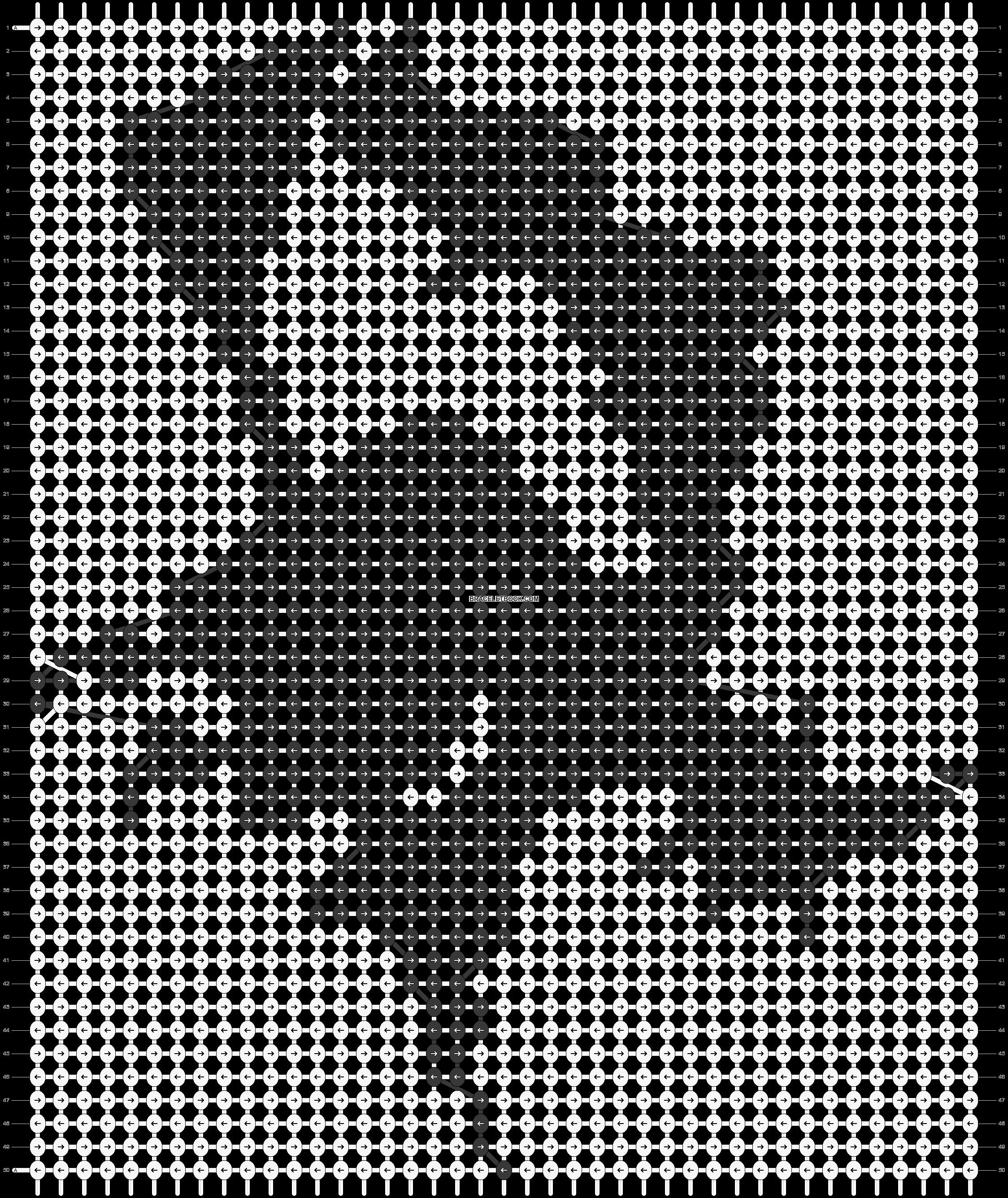 Alpha pattern #16041 pattern