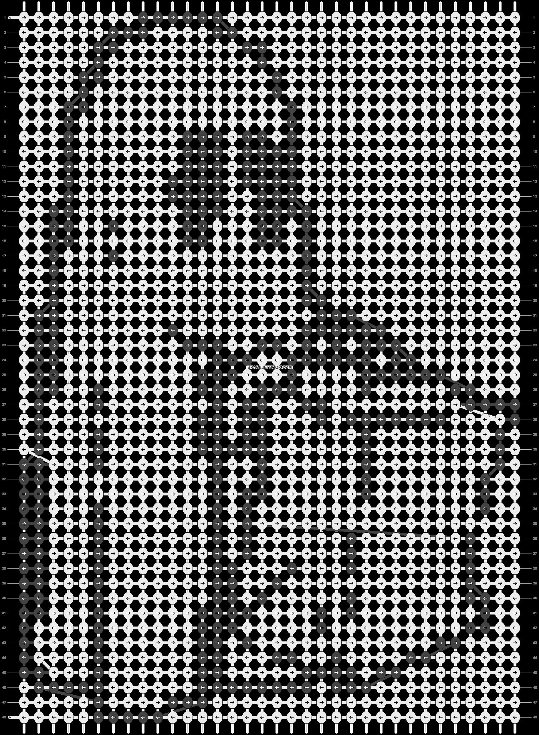 Alpha pattern #16042 pattern