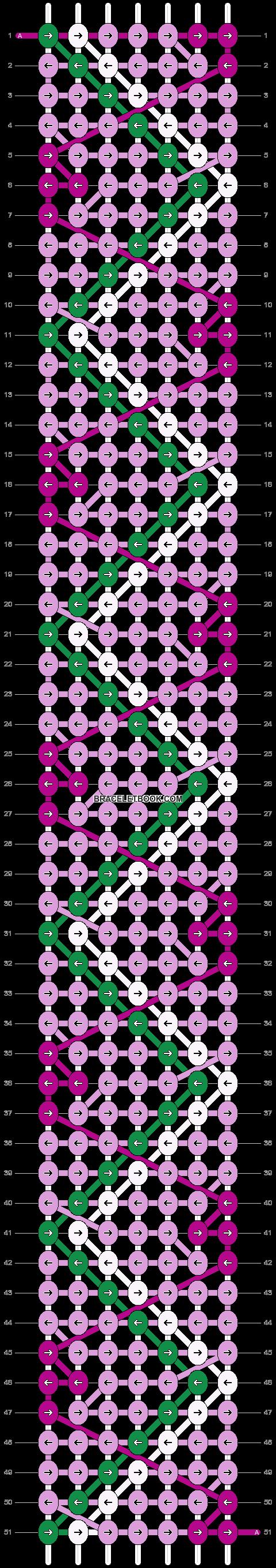Alpha pattern #16069 pattern