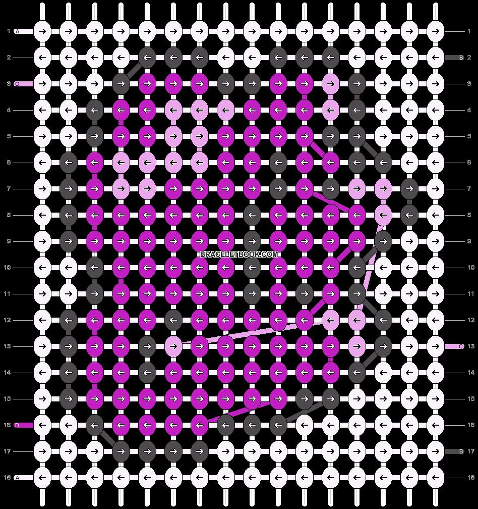 Alpha pattern #16076 pattern