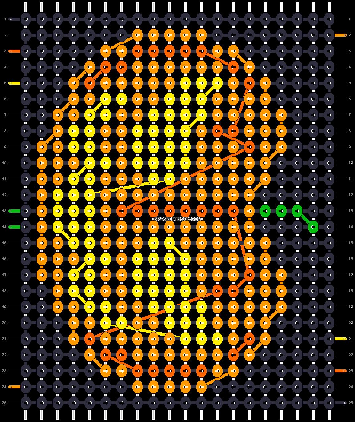 Alpha pattern #16082 pattern