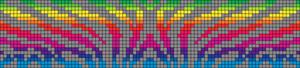 Alpha Friendship Bracelet Pattern #16086