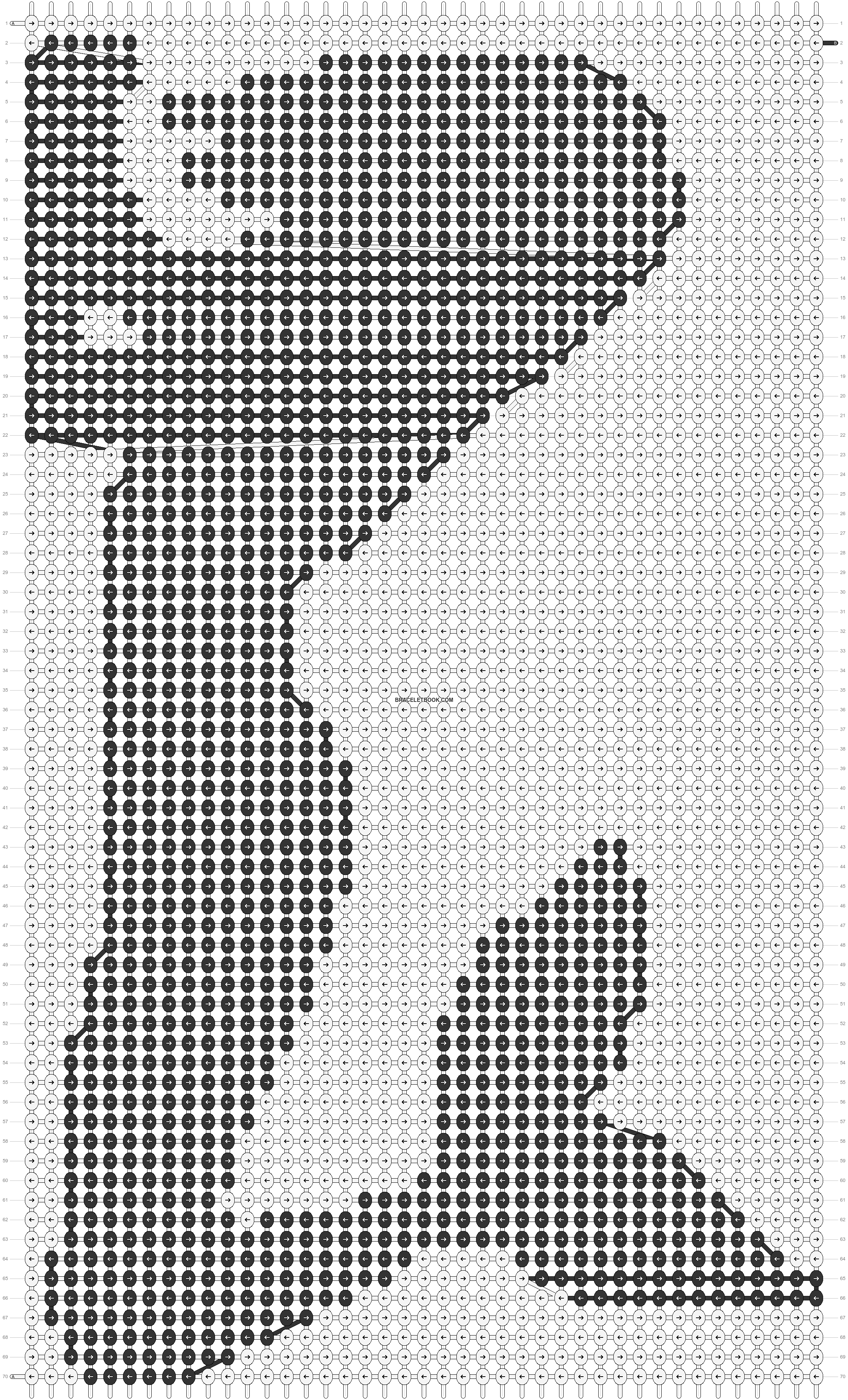 Alpha pattern #16093 pattern