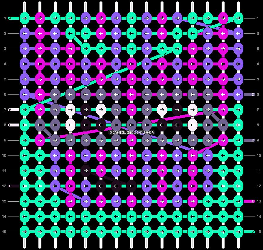 Alpha pattern #16109 pattern