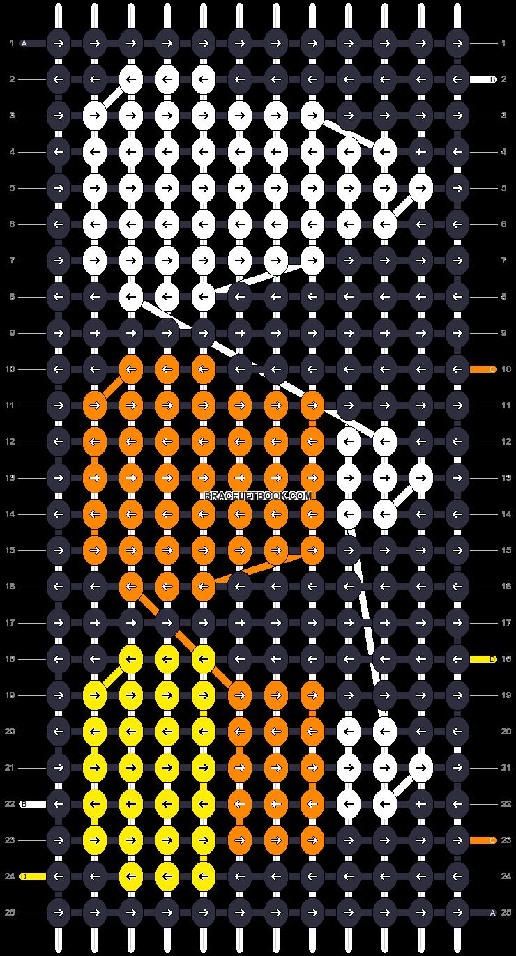 Alpha pattern #16118 pattern