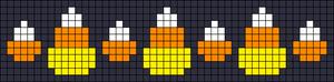 Alpha Friendship Bracelet Pattern #16119