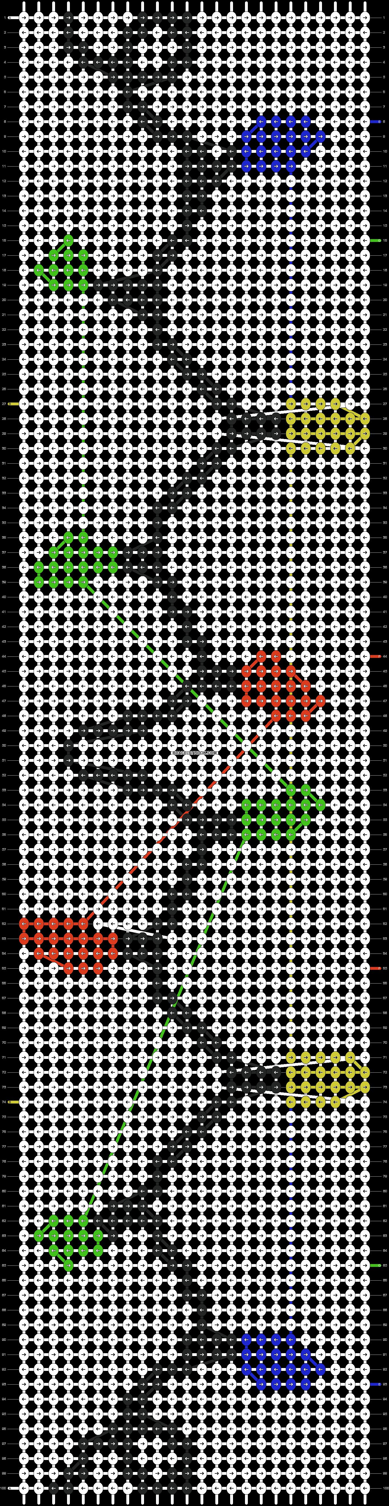 Alpha pattern #16136 pattern