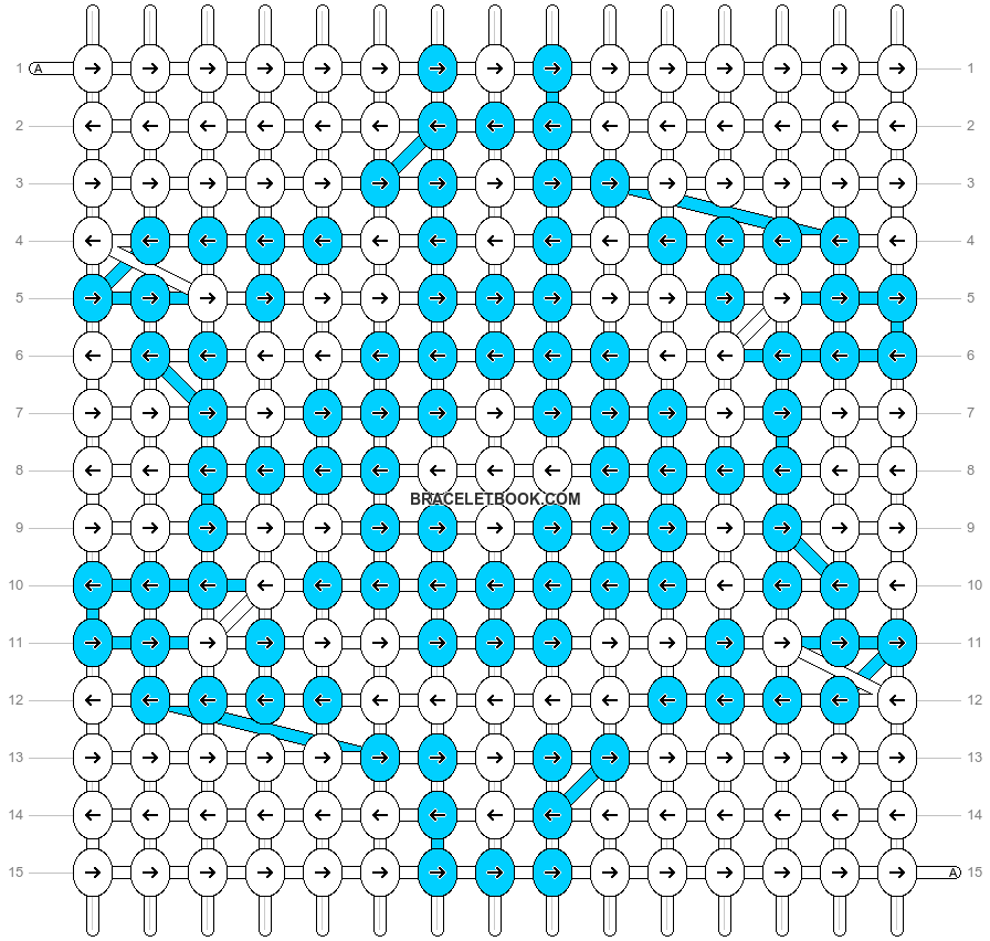 Alpha pattern #16139 pattern
