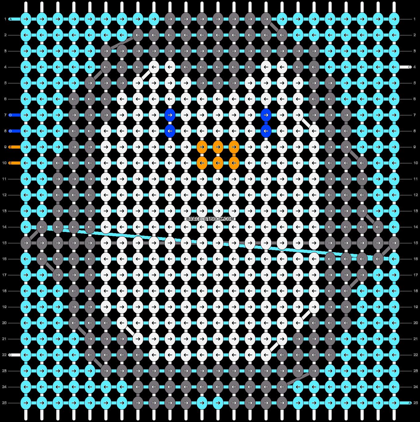 Alpha pattern #16140 pattern