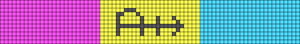 Alpha Friendship Bracelet Pattern #16150