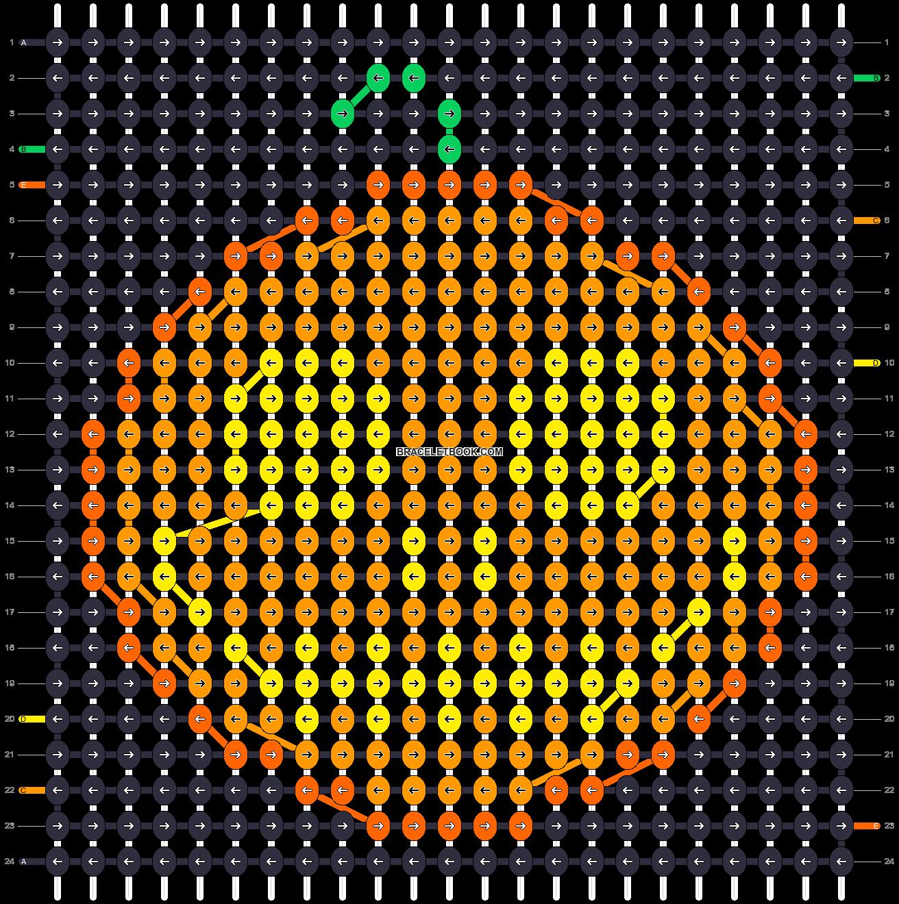 Alpha pattern #16179 pattern