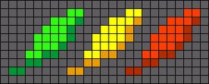 Alpha Friendship Bracelet Pattern #16204