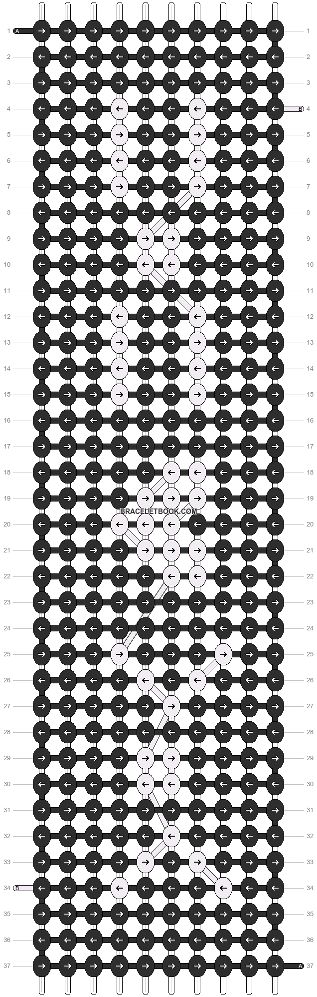 Alpha pattern #16214 pattern