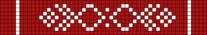 Alpha Friendship Bracelet Pattern #16218