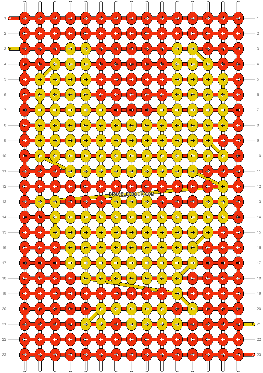 Alpha pattern #16219 pattern