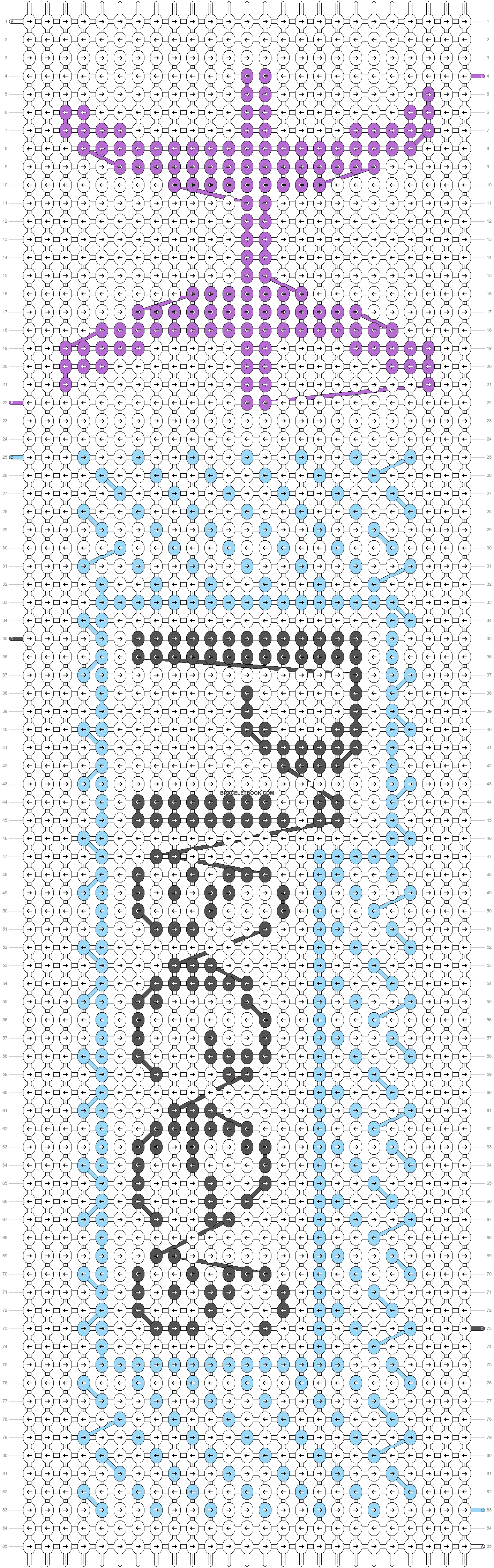 Alpha pattern #16234 pattern
