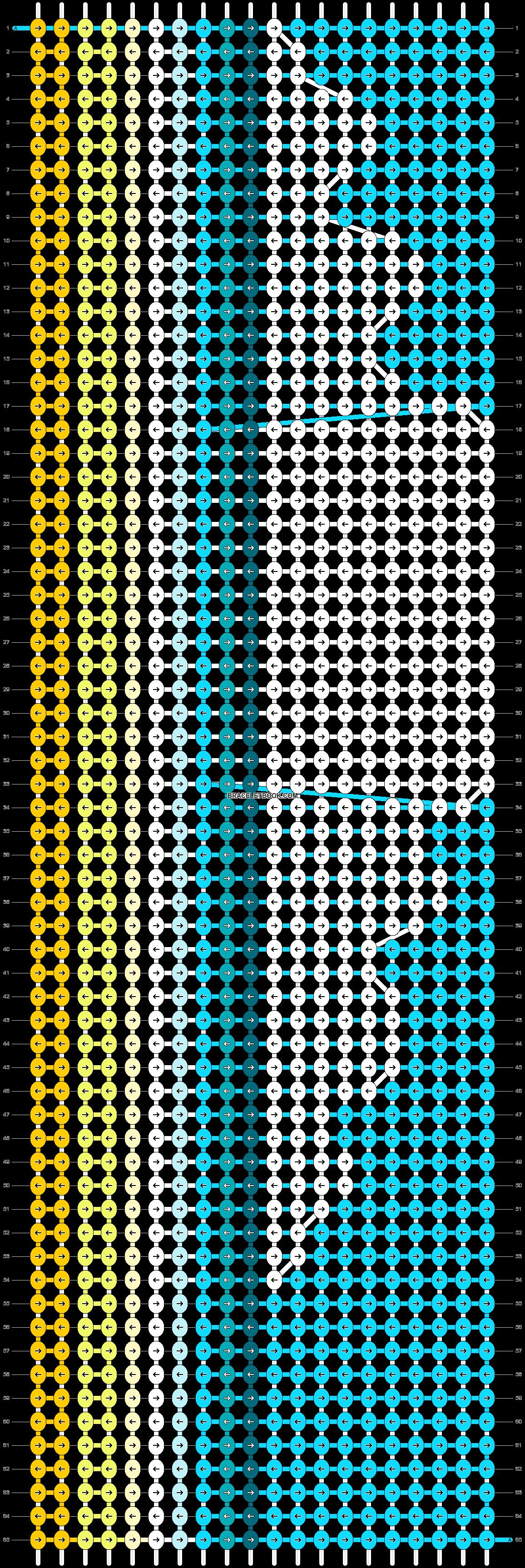 Alpha pattern #16237 pattern