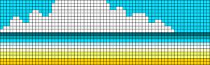 Alpha Friendship Bracelet Pattern #16237