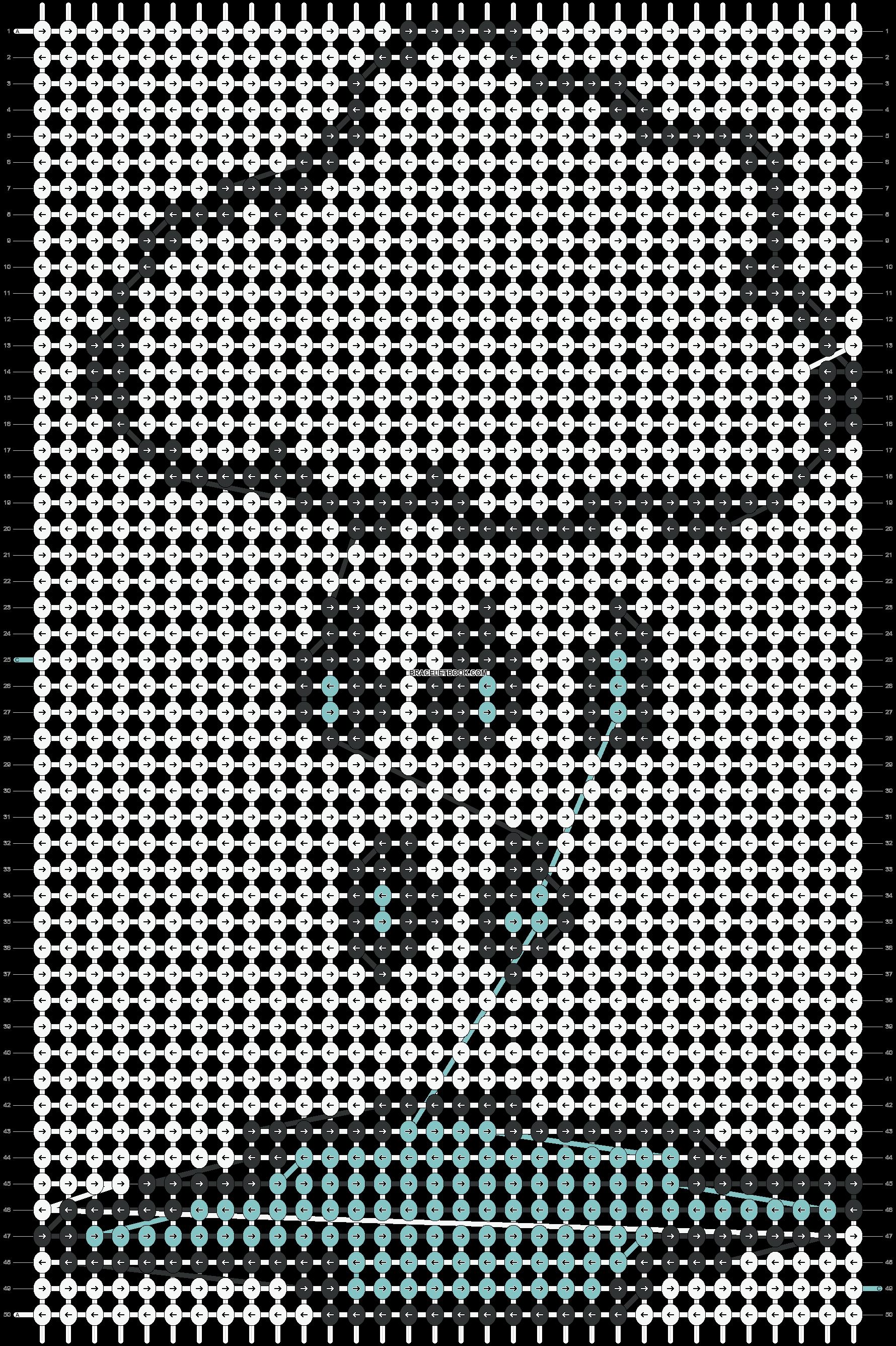 Alpha pattern #16238 pattern