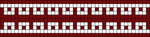 Alpha Friendship Bracelet Pattern #16255